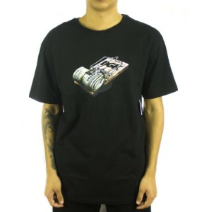 CAMISETA DGK MIND TRAP - BLACK