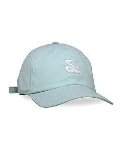 Boné Dad Hat Simple Logo - Blue