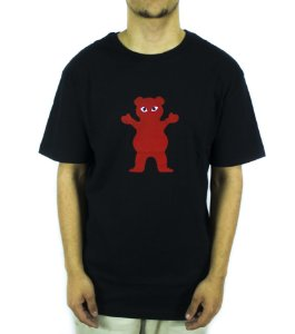 CAMISETA GRIZZLY PUDWILL PRO BEAR TEE - BLACK