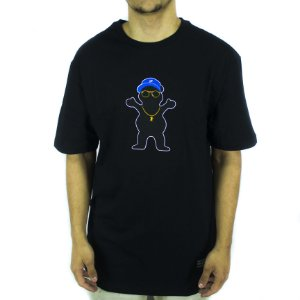 CAMISETA GRIZZLY BOO JOHNSON PRO BEAR TEE - BLACK