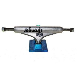 TRUCK STRONGER HOLLOW - PRATA AZUL 129MM