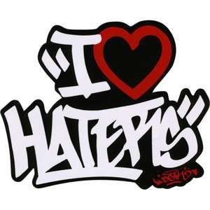 Adesivo Stickers DGK Haters Spray