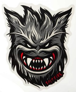 ADESIVO STICKERS SPITFIRE BIG BIG HEAD MONSTER