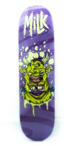 "SHAPE IMPORTADO MAPLE MILK COW MONSTER PURPLE - 8.25"" + LIXA EMBORRACHADA GRÁTIS"