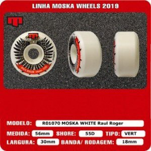 Roda Moska Raul roger Bowl E Vert 56mm 55d New