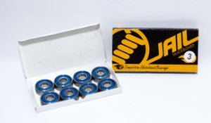 Rolamento Skate Jail Original Abec 3 Kit C/8