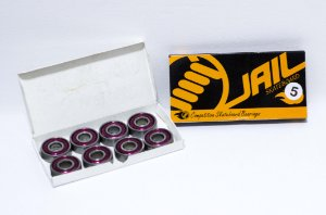 Rolamento Skate Jail Original Abec 5 Kit C/8
