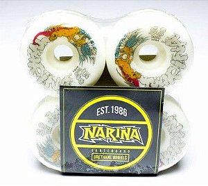 Roda Narina Série Animal 58mm