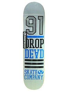 Shape Drop Dead H.t Logo 7,75'' - Branco + LIXA NACIONAL GRÁTIS