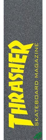 LIXA IMPORTADA EMBORRACHADA MOBGRIP  Thrasher Skate Mag Yellow