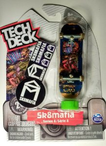 FINGERBOARD Tech Deck Alien Workshop Missing Link Series 4