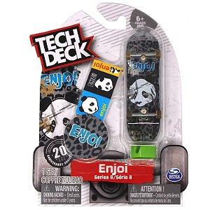 Tech Deck enjoi Skateboards Series 8 Thrashed Panda Cheetah