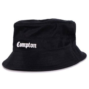 Bucket Hat Chronic Compton - PRETO