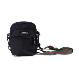 SHOULDER BAG PRETA GUCCI CHRONIC