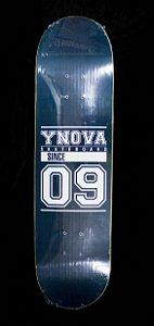 "SHAPE YNOVA SKATEBOARD MARINHO  8.125"" + LIXA GRÁTIS"