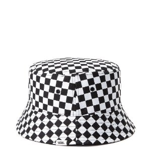 CHAPÉU BUCKET VANS DRIZZLE DROP BLACK WHITE CHECKERBOARD