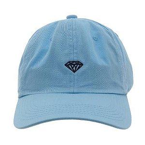 Boné Diamond Aba Curva Dad Hat Micro Brilliant Blue