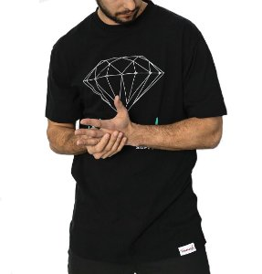 CAMISETA DIAMOND OG SING - BLACK
