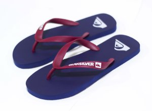 CHINELO QUIKSILVER SANDALS MOLOKAI ID - BLUE/RED/BLUE