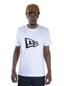 CAMISETA NEW ERA ESSENTIALS FLAG - BRANCA