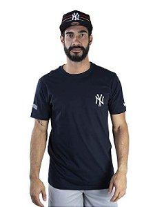 CAMISETA MLB NEW YORK YANKEES ESSENTIALS LOGO - MARINHO