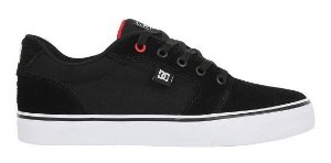TÊNIS DC SHOES ANVIL TL19 BLACK RED - ( LANÇAMENTO )