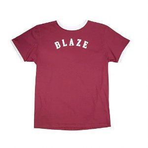 Camiseta Tee Blaze Supply Curve Red