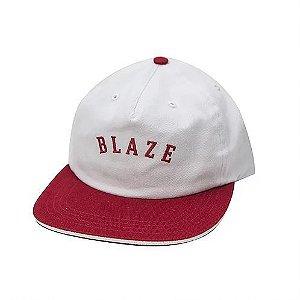 Boné Snapback Blaze Supply Curve White/Red