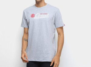 Camiseta Element Signature - Cinza/Mescla
