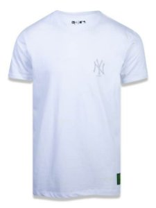 CAMISETA NEW ERA MLB NEW YORK YANKEES MONOTONE ALLOVER BRANCA