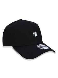 BONÉ 9FORTY ABA CURVA AJUSTÁVEL MLB NEW YORK YANKEES BASIC PRETO