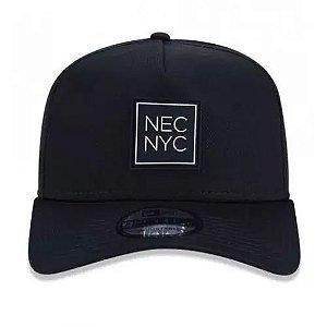 Boné New Era Aba Curva Veranito NEC NYC Preto