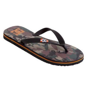 CHINELO DC SANDALS SPRAY GRAFFIK - ORANGE CAMO