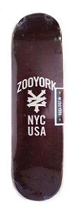 "SHAPE MARFIM ZOO YORK NYC USA BORDO 8.125"" + LIXA GRÁTIS"