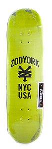 """SHAPE MARFIM ZOO YORK NYC USA GREEN 8.0"""" + LIXA GRÁTIS"""