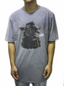 CAMISETA REGULAR LOST SHEEP TRUE - CINZA MESCLA
