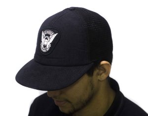BONÉ DC SHOES SNAPBACK TRUCKER IMP WINGS BLACK