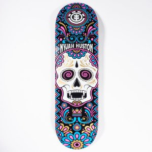 "SHAPE ELEMENT IMPORTADO MAPLE CALAVERA NYJAH 8.0"" + LIXA EMBORRACHADA GRATIS"