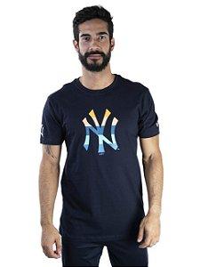 CAMISETA NEW ERA MLB NEW YORK YANKEES COLOR STRIPE