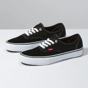 TÊNIS VANS AUTHENTIC PRO - BLACK TRUE WHITE
