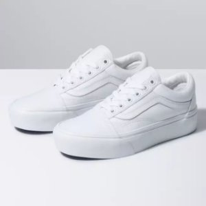 TÊNIS VANS OLD SKOOL PLATFORM - TRUE WHITE