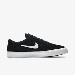 Tênis Nike SB Chron Solarsoft - Black white