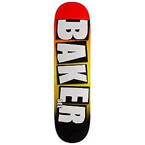 "Shape Baker Dee Brand Name Grade Skateboard Deck 8.1"" + LIXA EMBORRACHADA GRÁTIS"
