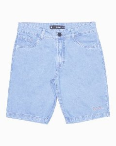 BERMUDA JEANS SIMPLE SKATEBOARD JEANS RAW clear