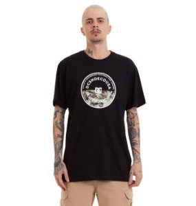 CAMISETA DC SHOES BAS BIG JET - PRETA