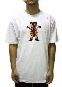 CAMISETA GRIZZLY OG BEAR TIE DYE - WHITE