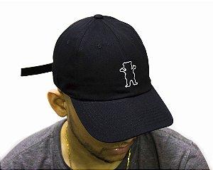 Boné Dad Hat grizzly og Bear - preto