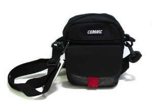 SHOULDER BAG CHRONIC BLACK BLACK RED