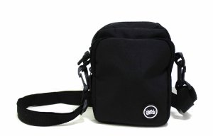 SHOULDER BAG CHRONIC LOGO - PRETA