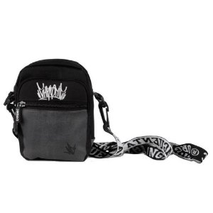 SHOUDER BAG CHRONIC LOGO TAG - BLACK/GRAY